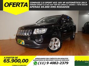 Jeep Compass 2.0 Sport 4x2 16v Aut Top De Linha 59.000 Kms