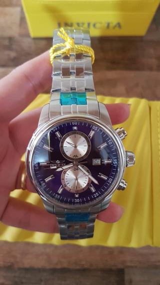 Relógio Invicta Specialty Azul Original 21557