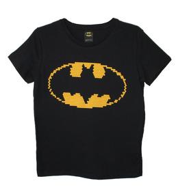 Playera Batman Escudo Dc Cómics Original Envió Gratis