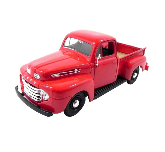 Miniatura Pickup F1 Escala 1:25 Vermelha Ford - Maisto
