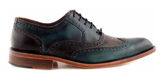 Zapato Hombre Cuero Briganti Vestir Suela Moda - Hcac00785