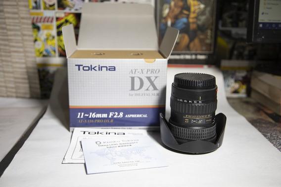 Lente 11-16 Mm Tokina At-x 116 Pro Dx-ii F2.8 Para Canon