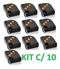 Kit 10 Controle Alarme Compatec Rtht 433 Frete Grátis