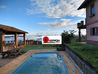 Chácara Com 5 Dormitórios À Venda, 1200 M² Por R$ 520.000,00 - Jundiaizinho - Mairiporã/sp - Ch0016