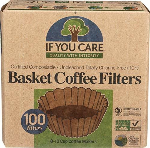 Imagen 1 de 4 de Filtros Desechables - If You Care Unbleached Coffee Filters