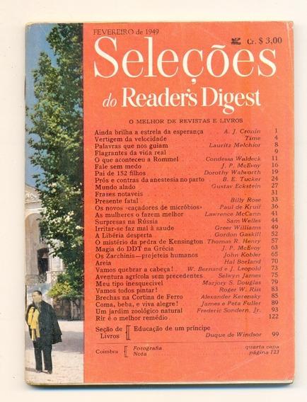 *sll* Revista Seleções Do Readers Digest - Fevereiro De 1949