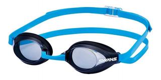 Óculos Para Natação Swans Sr-3n Fumê/vermelho