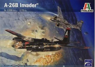 Mcdonnell Douglas A-26b Invader 1/72 Italeri No 1358