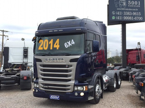 Scania Highline R 440 6x4 Ano 2014