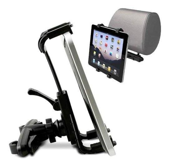 Suporte Encosto Banco Veicular Universal iPad Tablet Tv Gps
