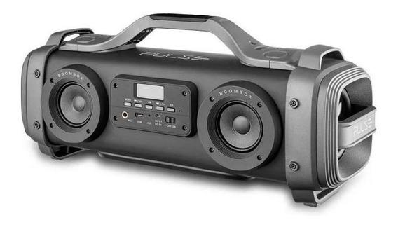 Caixa De Som Multilaser Sp363 Bluetooth Led Amplificada Usb