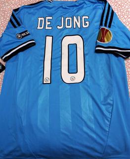 Camisa Do Ajax Europa League 2011/12 De Jong #10