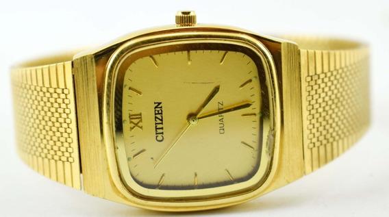 Relógio Citizen Quartz Do Japão Masculino Perfeito