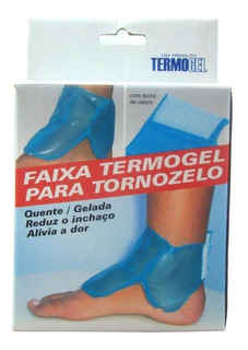 Termogel Faixa De Gel P/ Tornozelo