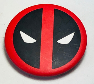 Pinlandia Boton Botones Pin Pines Deadpool Marvel