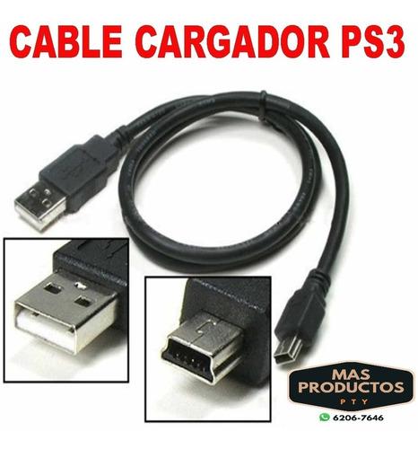 Cable Usb A Mini-usb Para Cargar Control Ps3