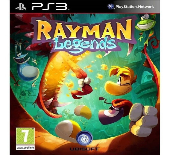 Ps3 Rayman Legends Português Psn Dublado Jogo Buy
