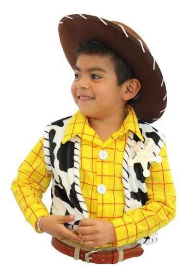 Padrísimo Disfraz Estilo Woody Toy Story Buzz Jessie Traje