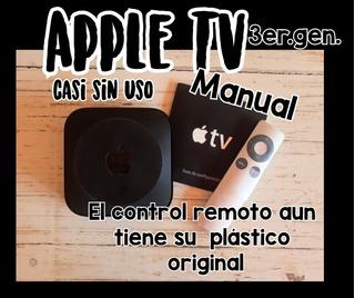 Apple Tv 3ra.generacion