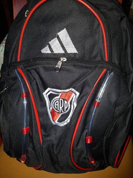 Mochila River Plate Grande De Espalda Escolar Y Urbana