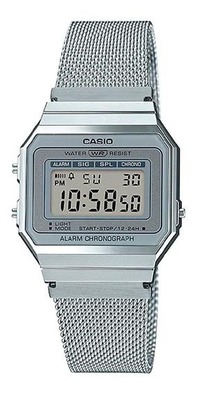Relógio Casio Vintage Slim A700wm-7adf + Nota Fiscal + Garantia Casio A700