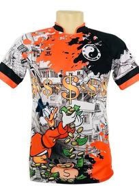 Camisa/camiseta Pousadão - Irmãos Metralha Laranja