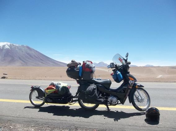 80 Adesivos Viagens Moto Atacama Patagonia Chile = Biz Xt660