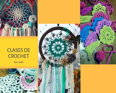 Clases De Crochet Decorativo En Flores
