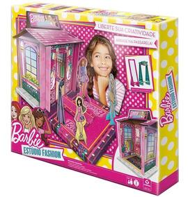 Casa Da Barbie Doll House Estúdio Fashion Mansão Copag