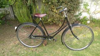Bicicleta Inglesa Clásica Vintage Dama. Rodado 28 Y Medio