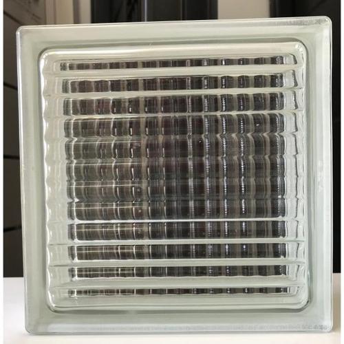 Ladrillos De Vidrio Bastonado Fino Importado Premium 19x19x8