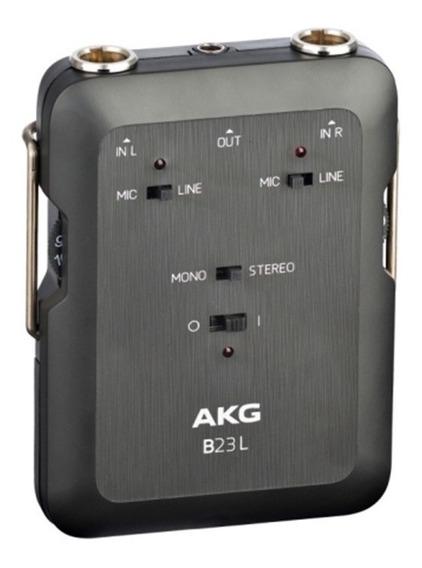 Mini Mixer Phantom Power Akg B23l Original 1 Ano Garantia Nf