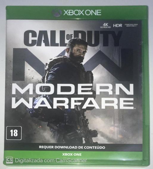 Call Of Duty Modern Warfare (mídia Física) Xbox One Dublado