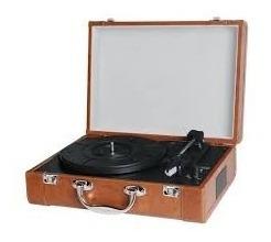 Rádio Toca Disco Goldship Cxr1503 Nostalgic Disma Marron