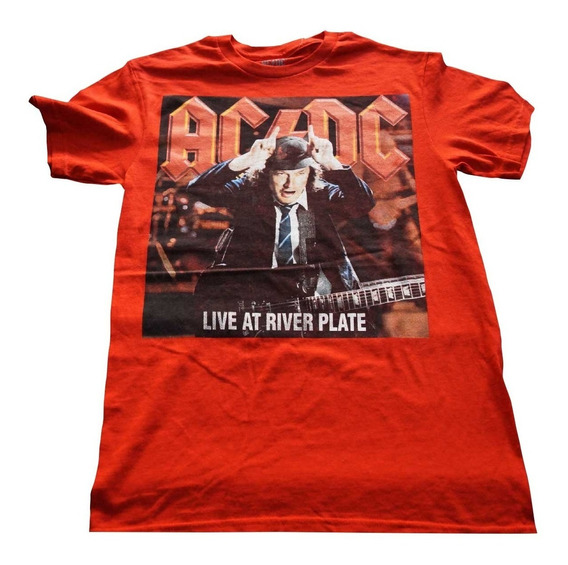 Camiseta Rock Acdc Importada Rock Activity Talla L