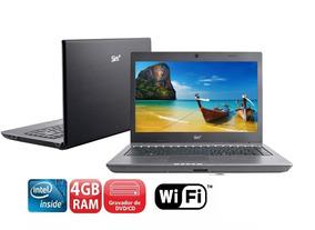 Notebook Intel Atom D525 Hd 320 Gb Memoria 4 Gb Oferta