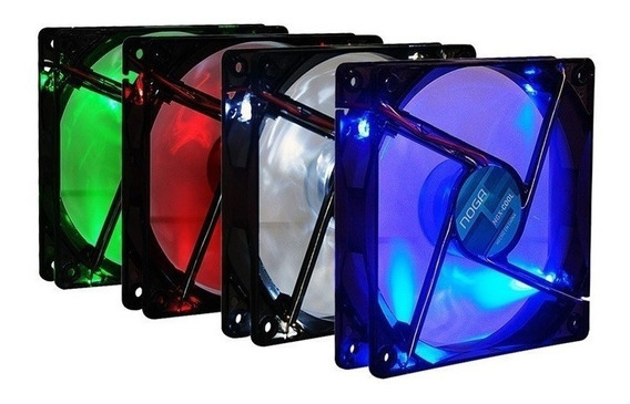 Cooler Gamer Pc Cpu 120 Mm Fan Con Led Colores Noga Ngx-cool