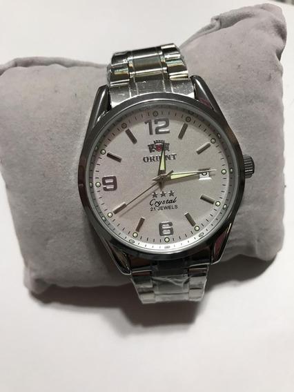 Relógio Orient 3 Estrelas Automático Muito Top *zerado*novo