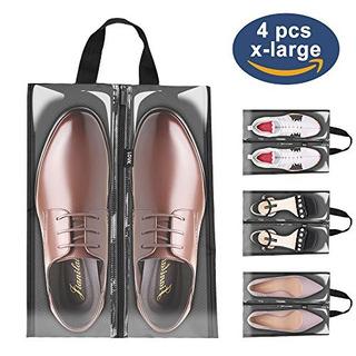 Bolsas De Zapatos Para Travellovk 4 Pcs Xlarge Accesorios De