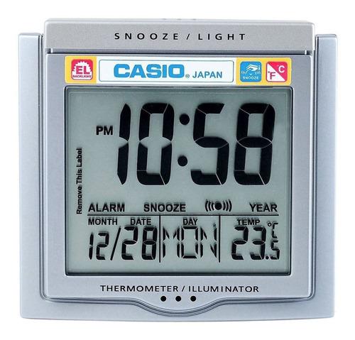 Reloj Despertador Casio Dq 750f Temperatura 100% Original