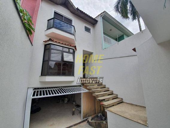 Sobrado Com 4 Dormitórios À Venda, 285 M² Por R$ 790.000 - Cidade Maia - Guarulhos/sp - So0754