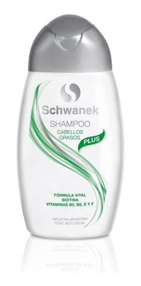 Shampoo Schwanek Cabellos Grasos Seborrea Caída De Cabello