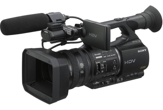 Filmadora Hdv 3ccd Sony Hvr-z5 + Gravador Cartão Sony Mrc1