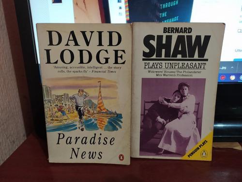 Livro Plays Unpleasant + Brinde Bernard Shaw
