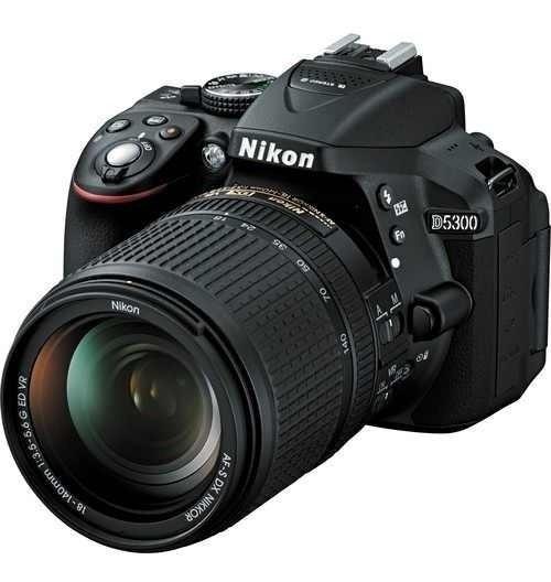 Camera Nikon D5300 Kit 18-55mm C/nota Fiscal E Frete Gratis