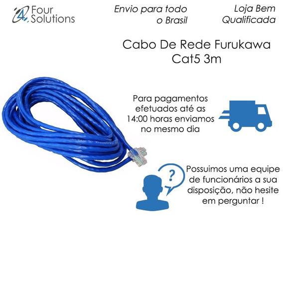 Cabo De Rede Furukawa Cat5 3m