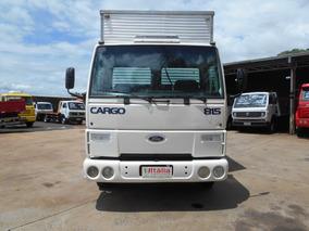 Ford Cargo 815 2003 Com Baú Muito Conservado