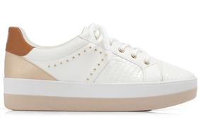 2457555f0 Tenis Branco Piccadilly - Calçados, Roupas e Bolsas no Mercado Livre ...