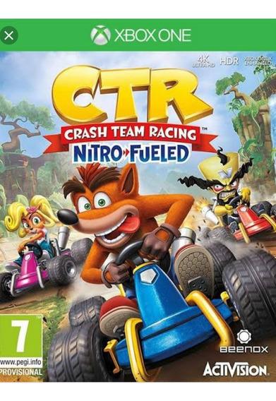 Crash Racing E Sonic Racing Xbox 2 Em 1 Online E Ofiline