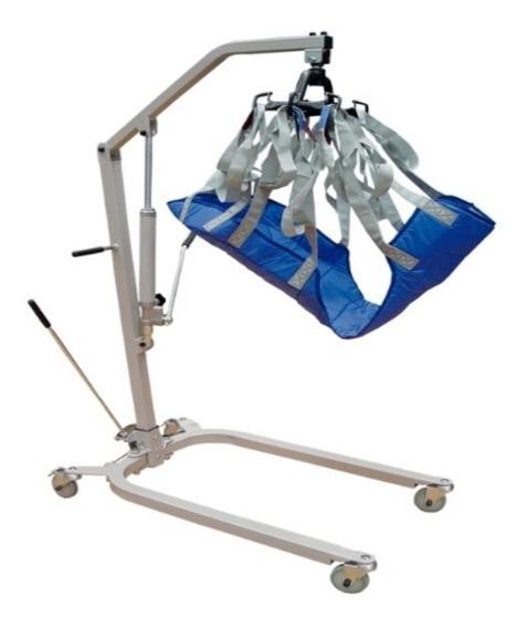 Grua Elevador De Pacientes Hidráulico Capacidad De 180 Kg